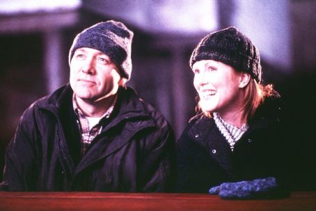 The Shipping News Kevin Spacey and Julianne Moore in Miramax's  - 2001
