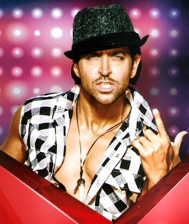 Hrithik Roshan In Reality Show Just Dance photoshoots