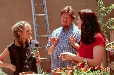 Donal Logue Greer Goodman as Syd,  as Dex and Nina Jaroslaw as Maggie in Sony Pictures Classics' The Tao of Steve - 2000