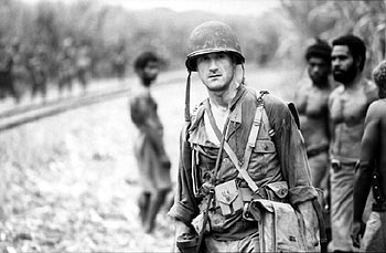 Elias Koteas  as Captain Staros in 20th Century Fox's The Thin Red Line - 1999