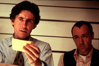The Usual Suspects Gabriel Byrne and Kevin Spacey in MGM's  - 1995