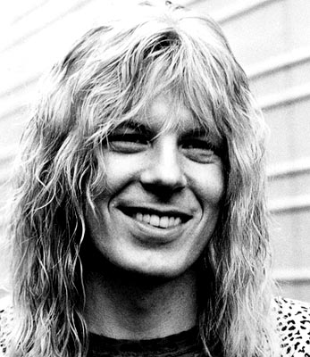 Michael McKean  as lead singer and co-lead guitarist David St. Hubbins in This Is Spinal Tap - 1984, re-released by MGM in 2000