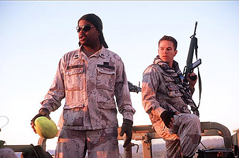 Three Kings Ice Cube and Mark Wahlberg in Warner Brothers'  - 1999