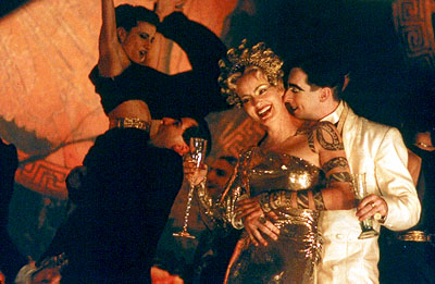 Titus Jessica Lange and Alan Cumming in Fox Searchlight's  - 1999