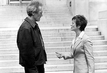 Frances Fisher Clint Eastwood and  in Warner Brothers' True Crime - 1999