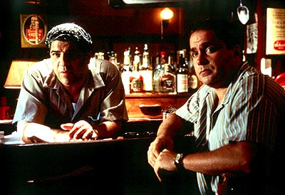 Two Family House Vincent Pastore and Michael Rispoli in Lions Gate's  - 2000