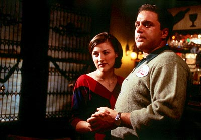 Two Family House Kelly MacDonald and Michael Rispoli in Lions Gate's  - 2000