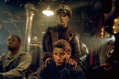 Will Estes Matthew McConaughey, T.C. Carson,  and Thomas Guiry in Universal's U-571 - 2000