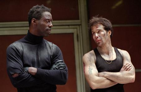 Isaiah Washington  and Sam Rockwell in Welcome to Collinwood - 2002