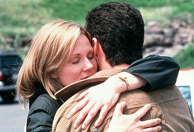 Jon Tenney Laura Linney as Sammy hugs  as Bob in Paramount Classics' You Can Count On Me - 2000