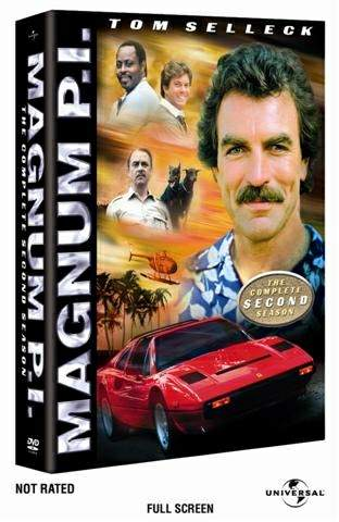 Magnum, P.I. : The Complete Second Season box art - 1980