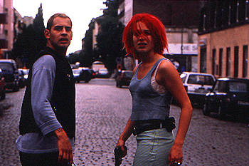 Run Lola Run Moritz Bleibtreu and Franka Potente in