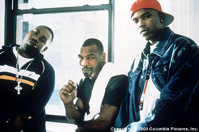 Mike Tyson Raekwon,  and Power in Screen Gems' Black And White - 2000