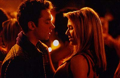 Michael Weston  and Kristen Miller in USA Films' Cherry Falls - 2000