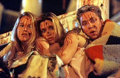 Michael Weston Joannah Portman, Kristen Miller and  in USA Films' Cherry Falls - 2000
