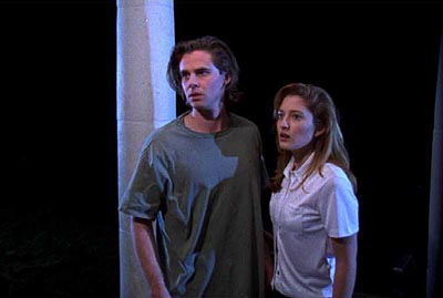 Sam Trammell  and Jessica Prunell in Castle Hill's Followers - 2000