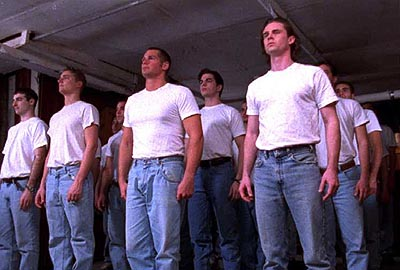 Sam Trammell John Dietrich () with the rest of the recruits in Castle Hill's Followers - 2000