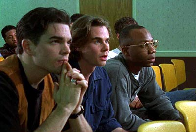 Sam Trammell Jerry Laurino,  and Eddie Robinson in Castle Hill's Followers - 2000