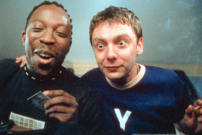 John Simm Shaun Parkes and  in Miramax's Human Traffic - 2000