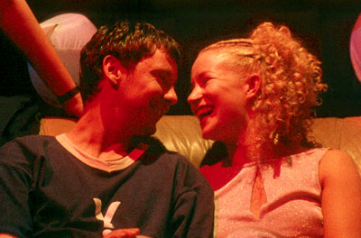 John Simm  and Lorraine Pilkington in Miramax's Human Traffic - 2000