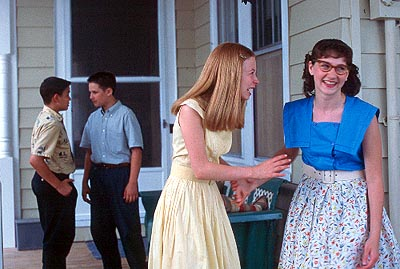 Ryan Merriman Joseph Franquinha, , Allie Spiro-Winn and Amy Braverman in Sony Pictures Classics' Just Looking - 2000