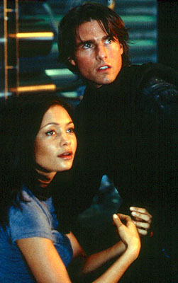 Mission: Impossible II Tom Cruise and Thandie Newton in Paramount's Mission Impossible 2 - 2000