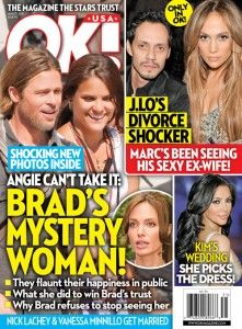COVER STORY: Angelina Jolie Can't Take It — Brad Pitt's Mystery Woman!
