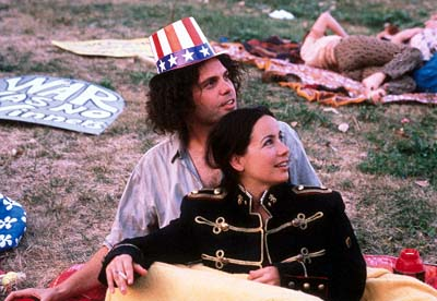 Janeane Garofalo Vincent D'Onofrio as Abbie Hoffman and  as Anita Hoffman in Lions Gate's Steal This Movie! - 2000