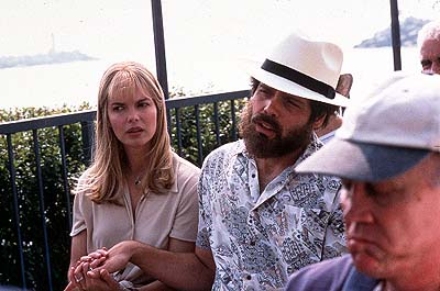 Jeanne Tripplehorn  as Johanna Lawrenson and Vincent D'Onofrio as Abbie Hoffman in Lions Gate's Steal This Movie! - 2000