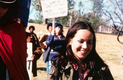 Janeane Garofalo  as Anita Hoffman in Lions Gate's Steal This Movie! - 2000