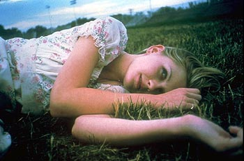 The Virgin Suicides Kirsten Dunst stars as Lux Lisbon in Paramount Classics'  - 2000