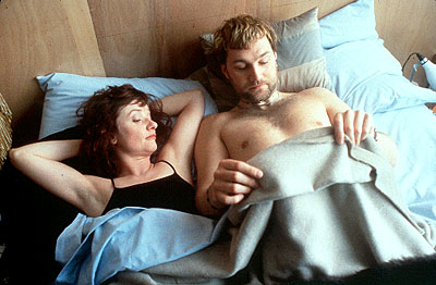 Jane Horrocks  and David Morrissey in United Artists' Born Romantic - 2001