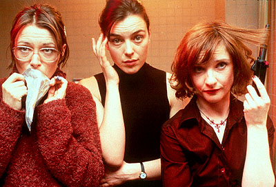 Olivia Williams Catherine McCormack,  and Jane Horrocks in United Artists' Born Romantic - 2001