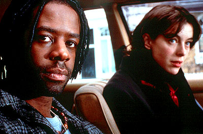 Olivia Williams Adrian Lester and  in United Artists' Born Romantic - 2001
