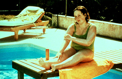 Fat Girl Anais Reboux by the pool in Cowboy Booking's  - 2001