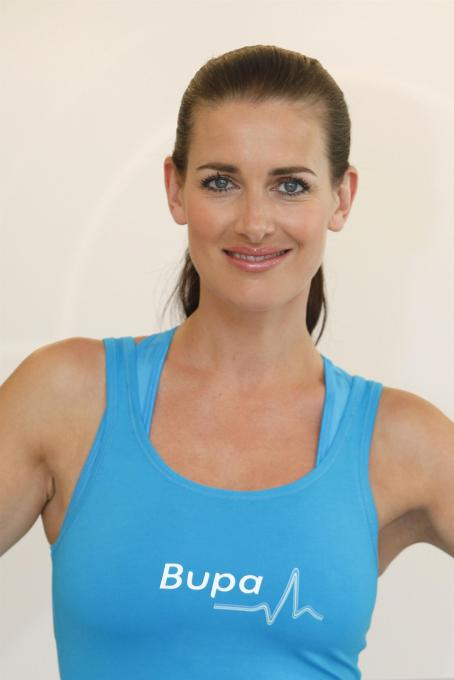 Kirsty Gallacher - Bupa Centre West End Launch 22-June-2010