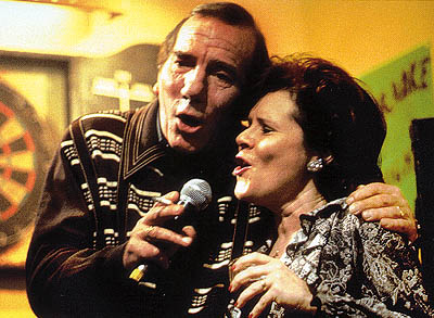 Rat Pete Postlethwaite and Imelda Staunton in Universal Focus'  - 2001