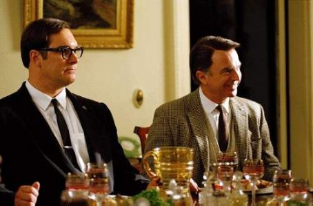 Patrick Warburton  and Sam Neill in Warner Brothers' The Dish - 2001