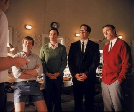 Patrick Warburton Kevin Harrington, Tom Long,  and Sam Neill in Warner Brothers' The Dish - 2001
