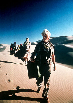 Bruce Davison Ray () leads a group of disparate tourists stranded in the desert in IFC Films' The King Is Alive - 2001