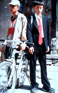 Beijing Bicycle Cui Lin and Li Bin as Jian in  - 2002
