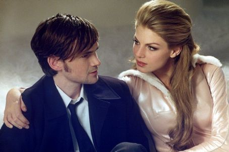 Jeremy Davies  and Angela Lindvall in United Artists' CQ - 2002