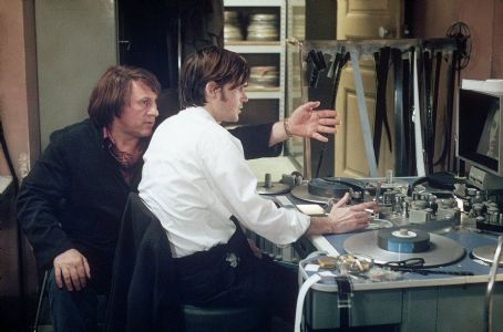 Jeremy Davies Gerard Depardieu and  in United Artists' CQ - 2002