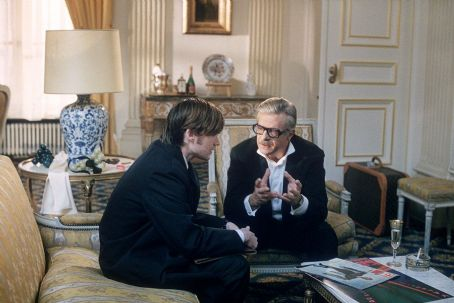 Jeremy Davies  and Giancarlo Giannini in United Artists' CQ - 2002
