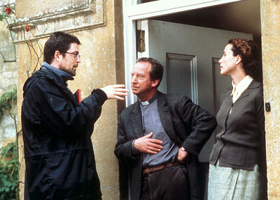 Bill Paterson Director John McKay,  and Andie MacDowell of Crush - 2002