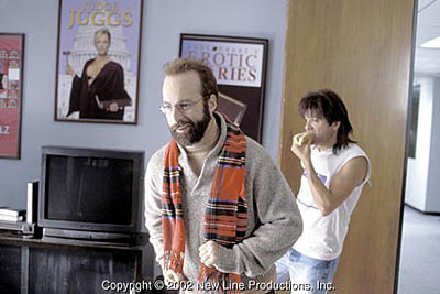 Bob Odenkirk  and David Cross in New Line's Run Ronnie Run! - 2002