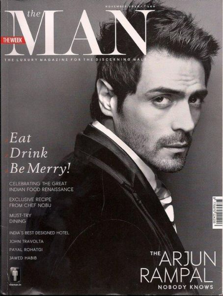 Arjun Rampal - The Man Magazine [India] (November 2010)