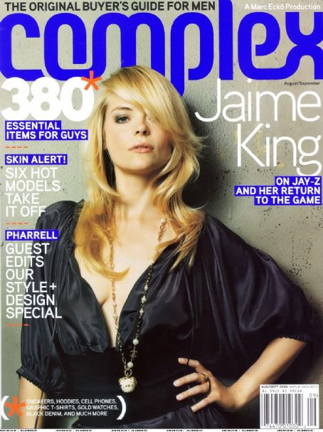 Jaime King - Complex Magazine Cover [United States] (August 2006)