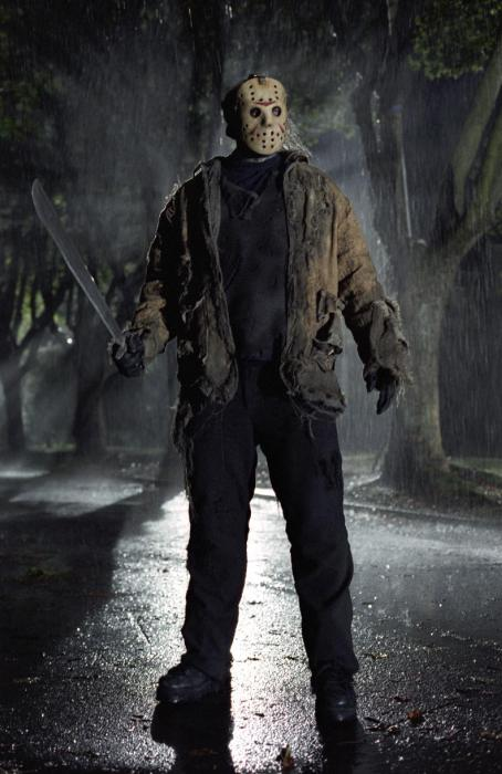 "Jason Voorhees Ken Kirzinger as ""Jason"" in New Line Cinema's upcoming Freddy Vs. Jason."