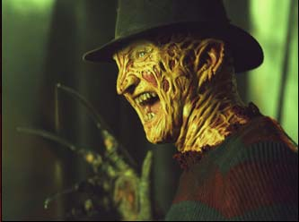 "Robert Englund  as ""Freddy Krueger"" in New Line Cinema's upcoming Freddy Vs. Jason."